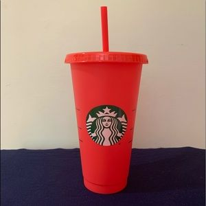 Starbucks, color changing cups